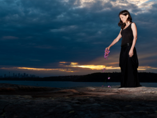 Commercial photo from musician album cover