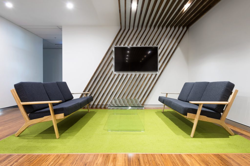 Commercial interiors photography office reception